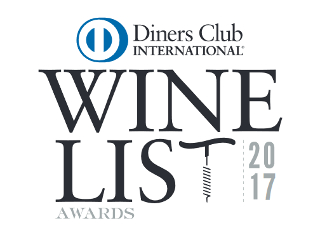 Diners Club Winelist winners 2017