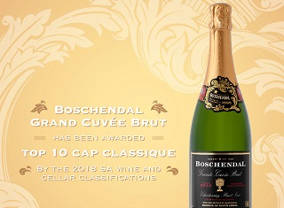 Boschendal's MCC named a top ten MCC over a 10 year period