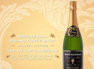 Boschendal's MCC named a top ten MCC over a 10 year period