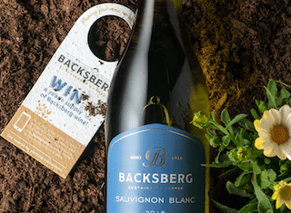 Backsberg's 'Let it Grow' campaign: high quality wine meets low environmental impact