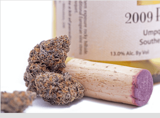This cannabis-infused wine promises to prevent hangovers
