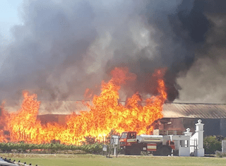 "Stellenbosch Vineyards grateful for ""swift action""by Stellenbosch Fire & Rescue"