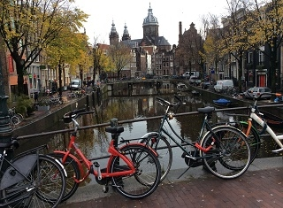 Our Amsterdam calling card