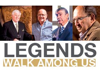 Legends walk among us