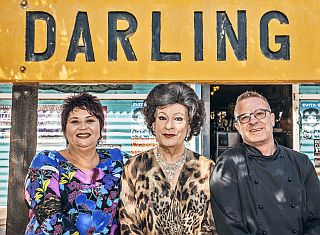 Giggling Gourmet and Tannie Evita team up
