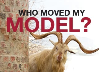 Who moved my model?
