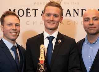 Jo Wessels (32) wins prestigious Moët Best Sommelier competition 2018