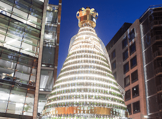 Moët & Chandon's Golden Tree Lighting Ceremony opens SA's festive season