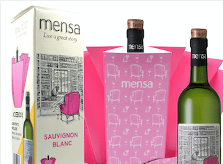 Innovative Mensa gift pack unfolds as a nifty ice bucket