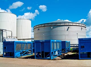 Aggreko's temp control and cooling systems offer significant saving on cost and capital spend