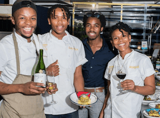 Wining, dining and sharing stories with Nederburg in Khayelitsha