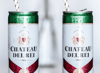 Chateau Del Rei's novel new 'Bubbly-in-a-Can': But would you drink it?