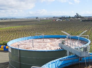 Management and re-use of treated winery wastewater (Part 1): New Zealand wineries