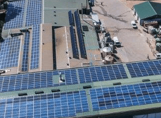 Fairview, a shining example of the power of solar