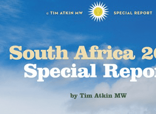 "Tim Atkin (MW) says South Africa is making ""the greatest wine in its history."""