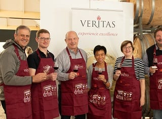 Wine experts from across the globe judge at Veritas