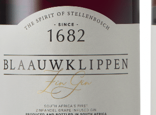 Blaauwklippen brings signature Zinfandel wine into new gin range