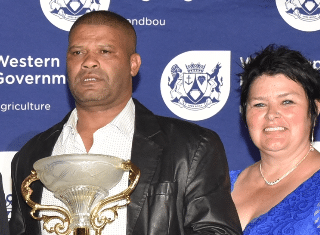 Francois Cilliers from Nuy Valley wins 2019 Western Cape Prestige Agri Awards