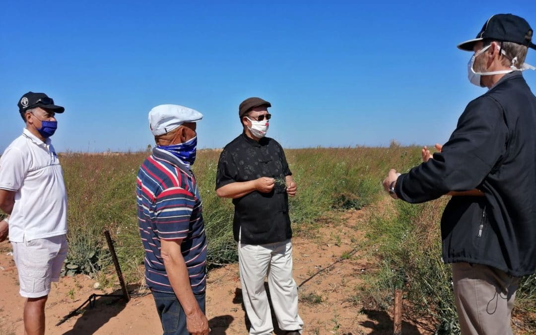 WC Agri Minister Ivan Meyer visits small-scale farmers in Ebenehauser