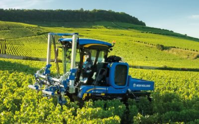 New Holland Braud harvesters and straddle tractors achieve Origine France Garantie certification