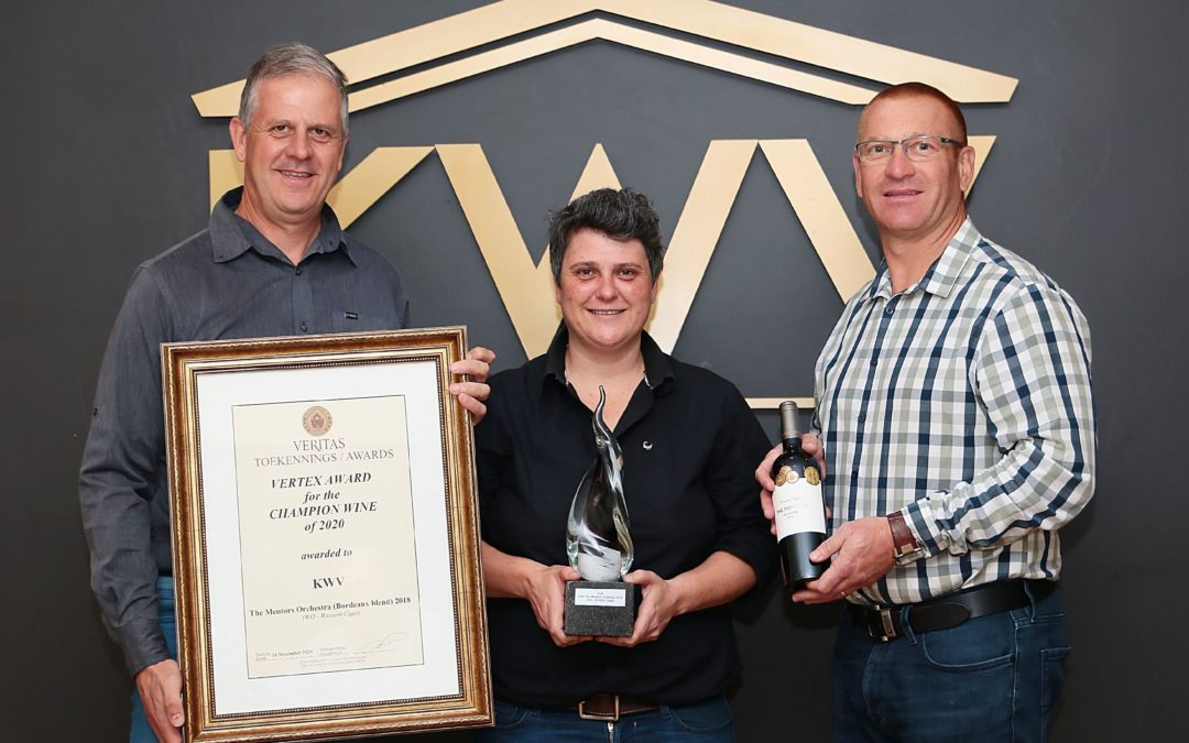 KWV's The Mentors Orchestra strikes a chord with Veritas Vertex award