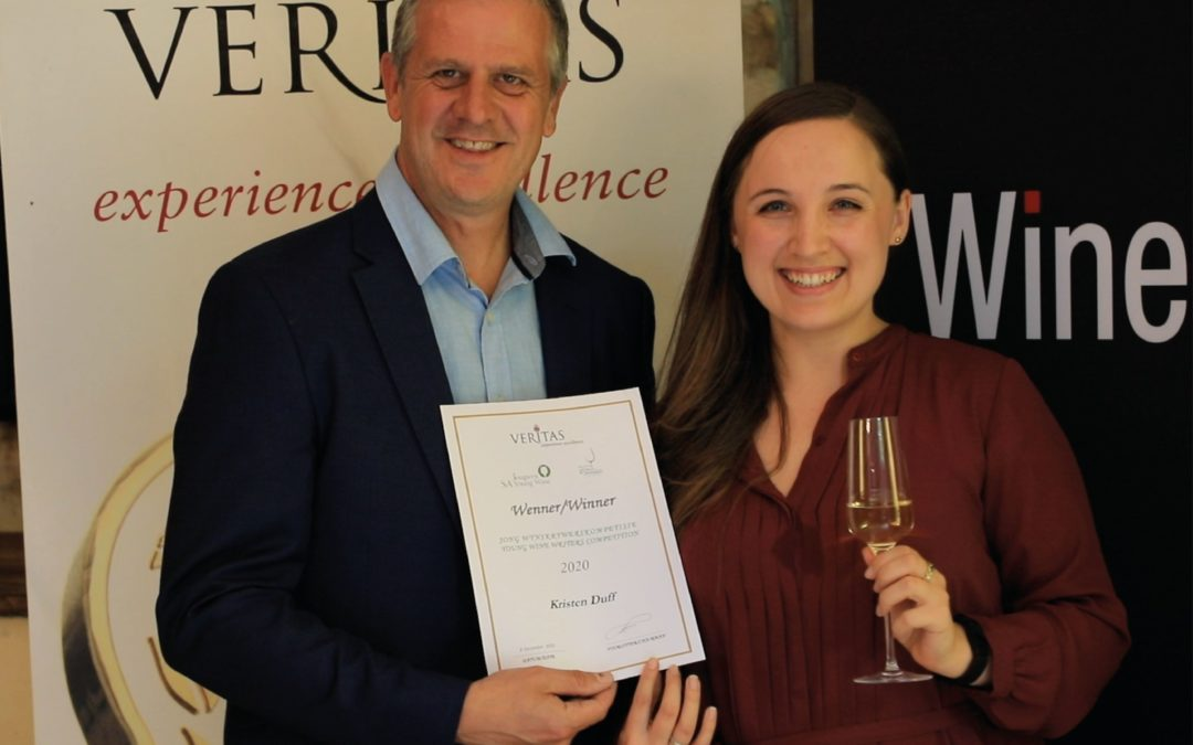 Kristen Duff clinches 2020 Veritas Young Wine Writer of the Year Award