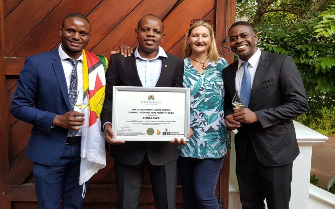 Team Zimbabwe triumphs at SWR Ubuntu Sommeliers Trophy