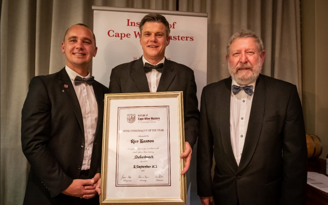 Three new Cape Wine Masters receive their diplomas